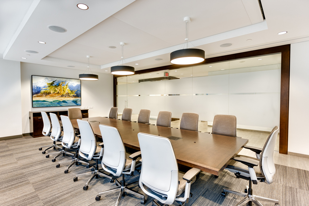 IA Clarington - Boardroom Interior Renovation