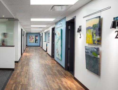 Living City – Commercial Interior Renovation – Hallway