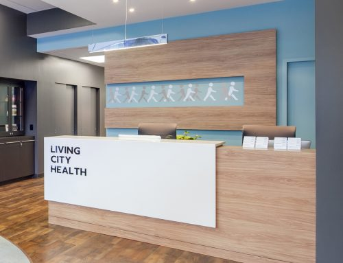 Living City – Office Reception Area Renovation