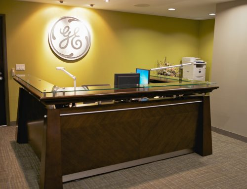 GE Capital – Brampton Office Reception Area