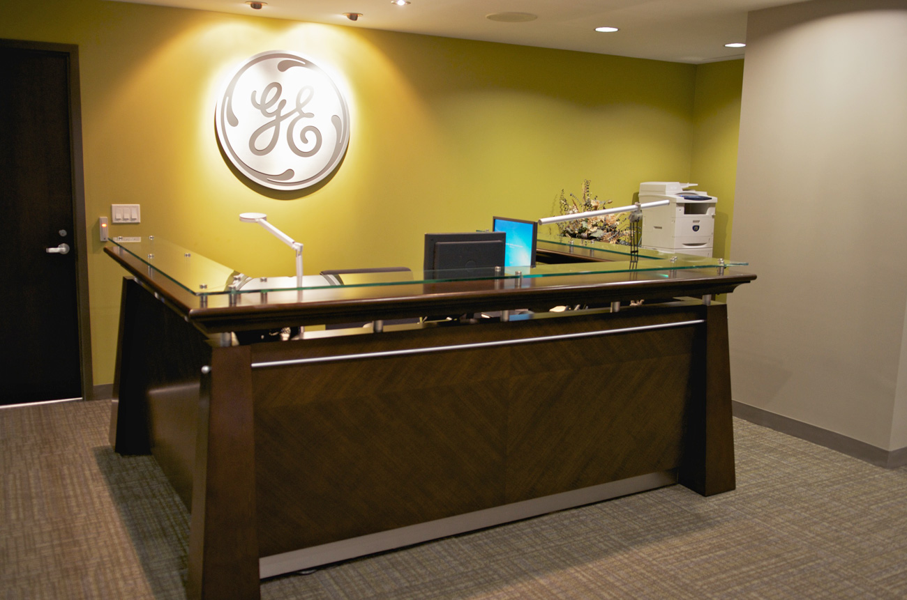 GE Capital - Brampton Office Reception Area