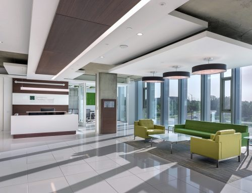 Construction Management Corporate Reception and Waiting Area Investment Planning Council