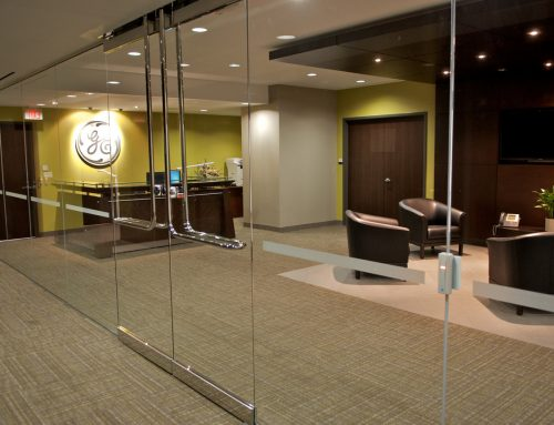 GE Capital – Glass Wall Entrance and Lobby