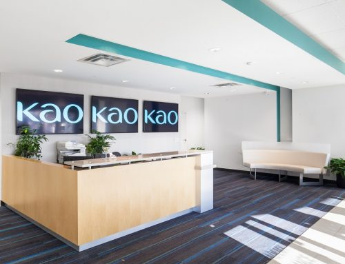 Construction Management Reception Area – KAO