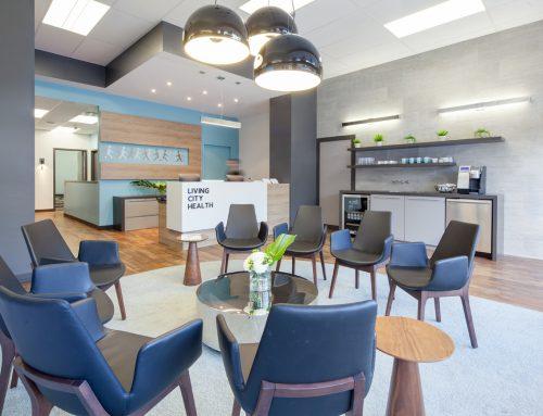 Living City – Renovation Reception Area