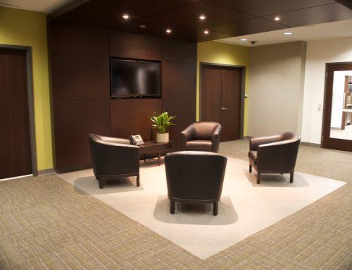 GE Captital – Waiting Area – Leasehold Interior Design
