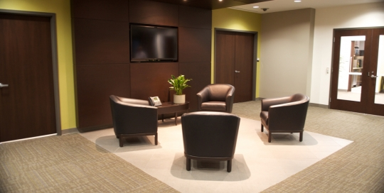 GE Captital - Waiting Area - Leasehold Interior Design