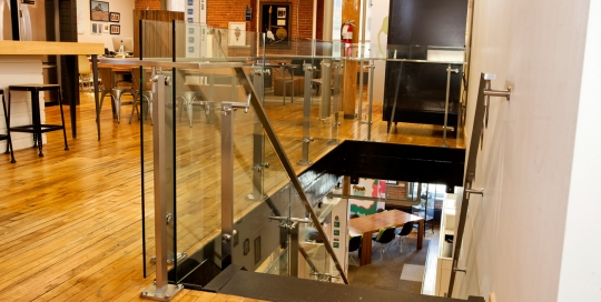 AOL Canada - Office Stairs Addition