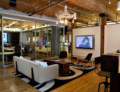 AOL Canada – Post and Beam Office Renovation