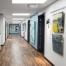 Living City - Commercial Interior Renovation - Hallway