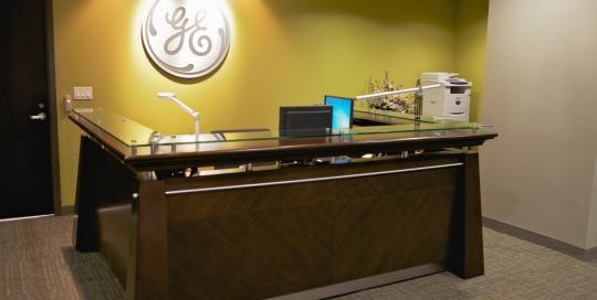 GE Capital - Brampton Office Reception Area
