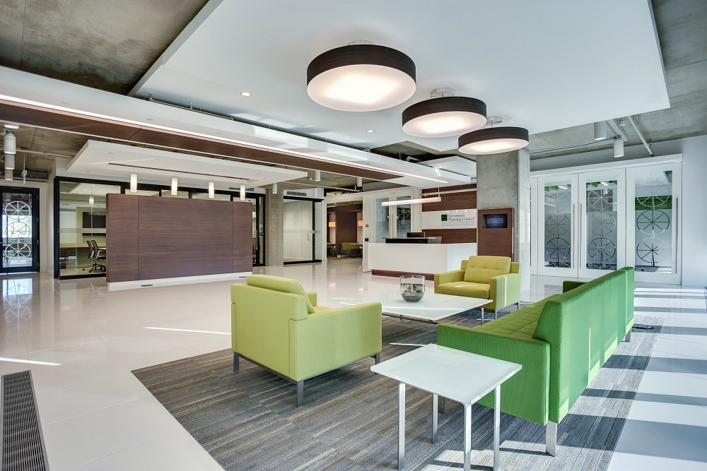 Construction Management Corporate Waiting Area Investment Planning Council