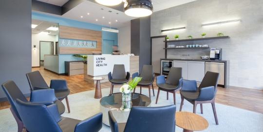 Living City - Renovation Reception Area
