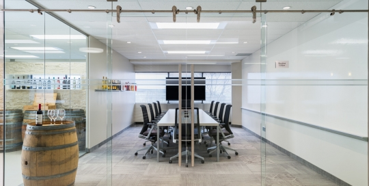 Gallo Wines - Leasehold Improvement, Boardroom Build-out