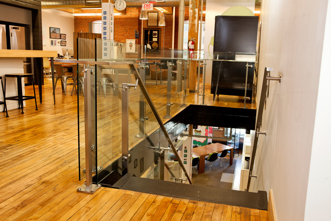 AOL Canada – Office Stairs Addition