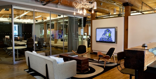 AOL Canada - Post and Beam Office Renovation